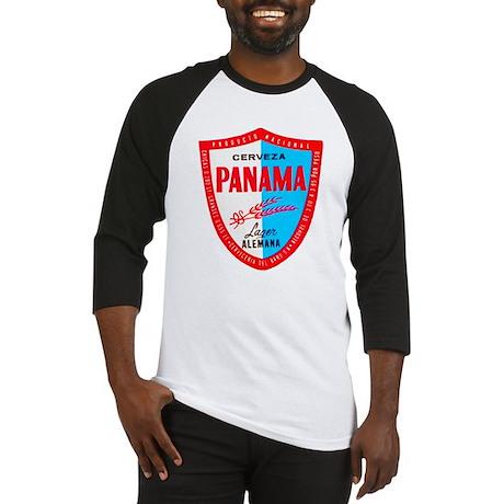 Panama Beer Label 1 Baseball Jersey