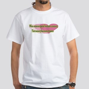 Heart Touching White T-Shirt