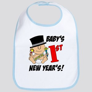 Baby's First New Year's Bib