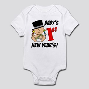 Baby's First New Year's Infant Bodysuit