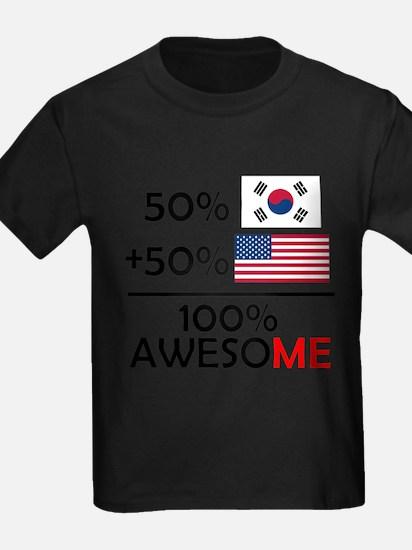 Half Korean Half American T-Shirt