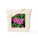 2 Pink Roses Tote Bag