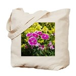 Purple Picotee Tote Bag