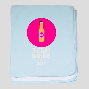 Team bride Paris 2017 Henparty C6va7 baby blanket