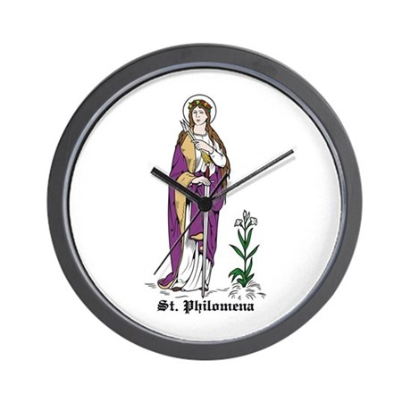 St. Philomena Wall Clock