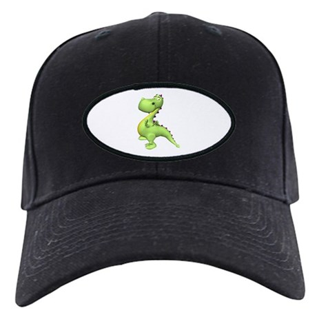 Puff The Magic Dragon - Green Black Cap