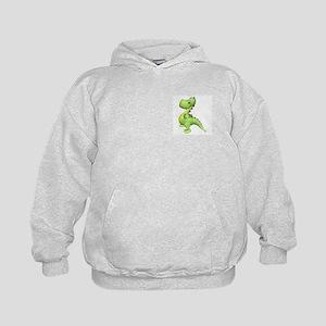 Puff The Magic Dragon - Green Kids Hoodie