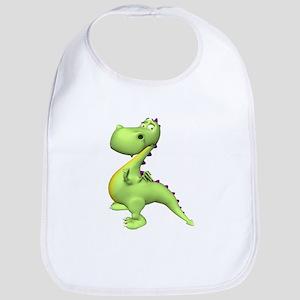 Puff The Magic Dragon - Green Bib