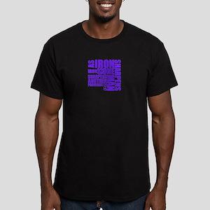 TypographyPurple T-Shirt