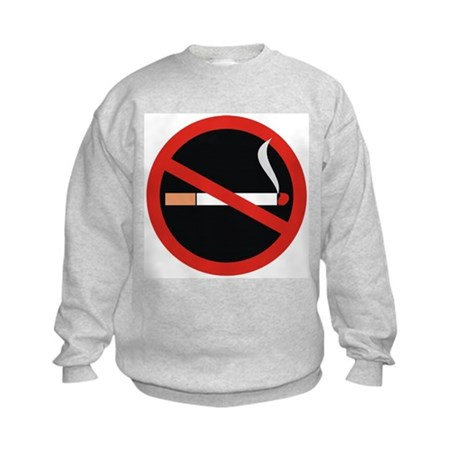 No Smoking Kids Sweatshirt
