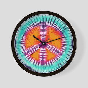 Blue Peace Wall Clock