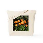 Yellow Orange Tulips Tote Bag