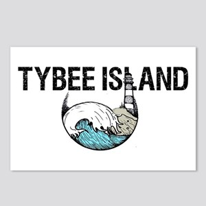Tybee Island, Ga Postcards (package Of 8)