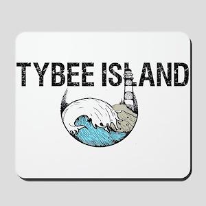 TYBEE ISLAND, GA Mousepad