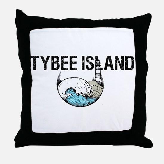 TYBEE ISLAND, GA Throw Pillow