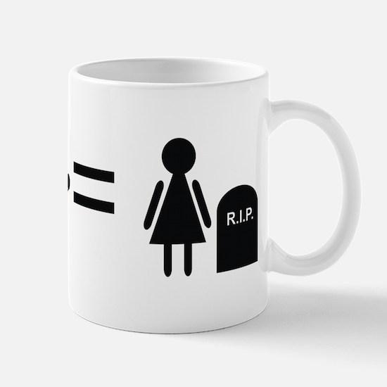 Anti-smoking RIP Mug