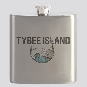Tybee Island, Ga Flask