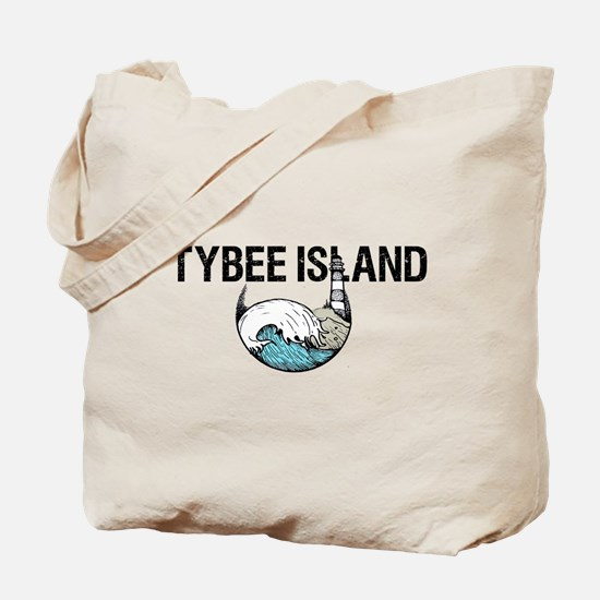 Tybee Island, Ga Beach Tote Bag