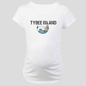 TYBEE ISLAND, GA Maternity T-Shirt