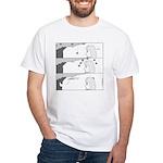 Gravity White T-Shirt