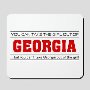 'Girl From Georgia' Mousepad