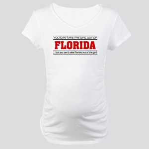 'Girl From Florida' Maternity T-Shirt