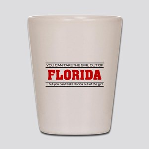 'Girl From Florida' Shot Glass