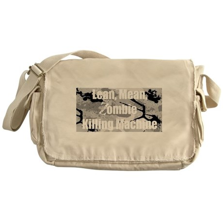 Zombie Killing Machine Messenger Bag