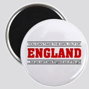 'Girl From England' Magnet