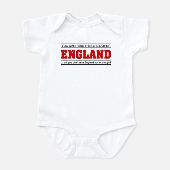 'Girl From England' Infant Bodysuit