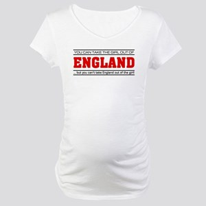 'Girl From England' Maternity T-Shirt