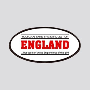 'Girl From England' Patches