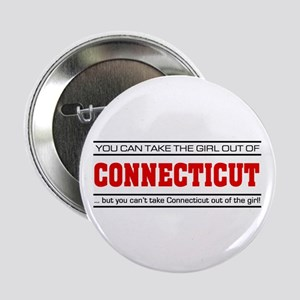 "'Girl From Connecticut' 2.25"" Button"