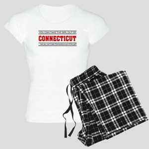 'Girl From Connecticut' Women's Light Pajamas