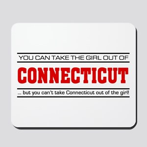 'Girl From Connecticut' Mousepad