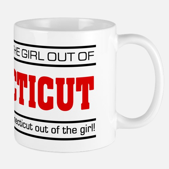 'Girl From Connecticut' Mug