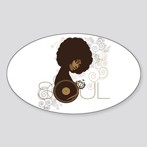 Soul III Sticker (Oval)