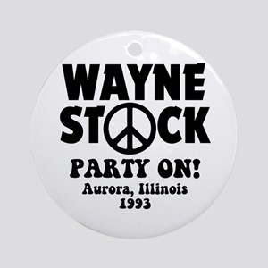 Wayne Stock Ornament (Round)