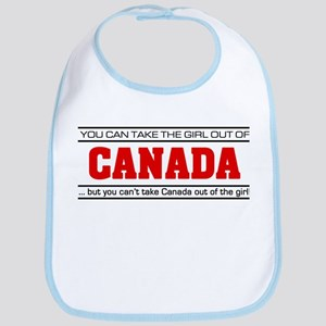 'Girl From Canada' Bib