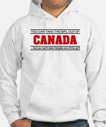 'Girl From Canada' Hoodie Sweatshirt