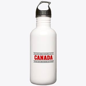 'Girl From Canada' Stainless Water Bottle 1.0L