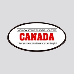 'Girl From Canada' Patches