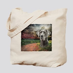 """Why God Made Dogs"" Great Dane Tote Bag"
