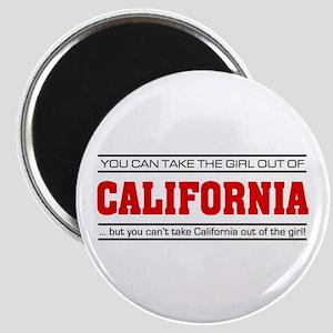 'Girl From California' Magnet