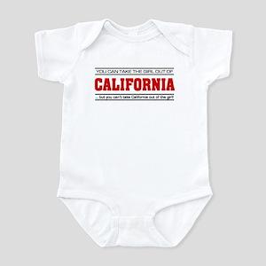 'Girl From California' Infant Bodysuit