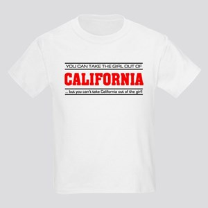 'Girl From California' Kids Light T-Shirt