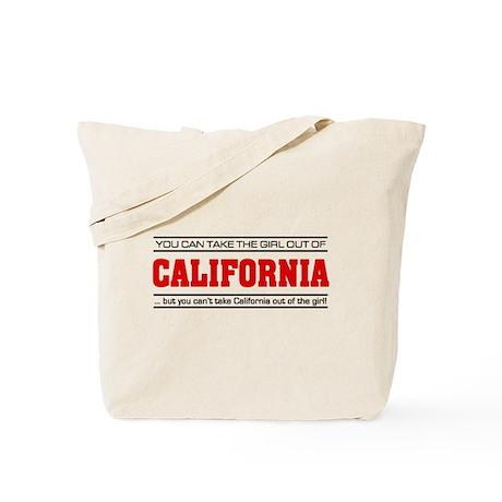 'Girl From California' Tote Bag