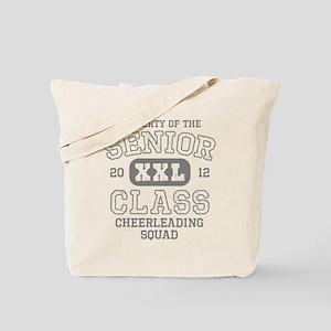 Senior 2012 Cheerleading Tote Bag