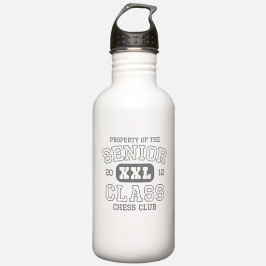 Senior 2012 Chess Club Water Bottle
