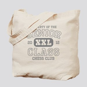 Senior 2012 Chess Club Tote Bag